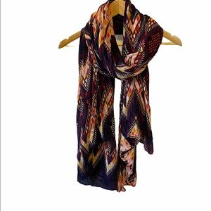 Colourful Aztec Printed Light Weight Scarf